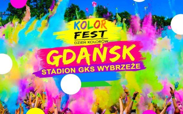 Festiwal Kolorów w Gdańsku - Kolor Fest